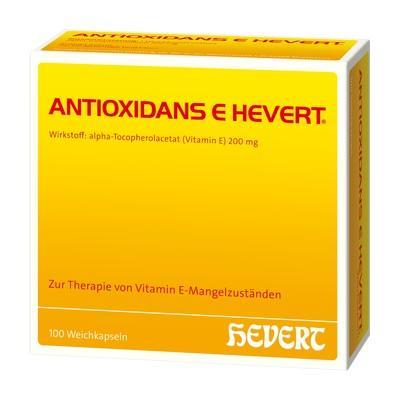 ANTIOXIDANS E Hevert Weichkapseln