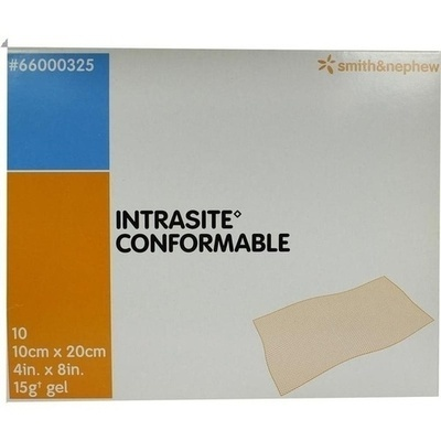 INTRASITE Conformable Gelkompr.10x20 cm