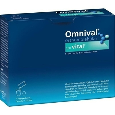 OMNIVAL orthomolekul.2OH vital 7 TP Gran.+Kaps.