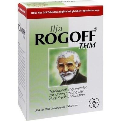 ILJA ROGOFF THM überzogene Tabletten