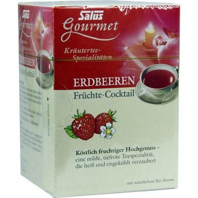 ERDBEEREN Früchtecocktail Salus Filterbeutel