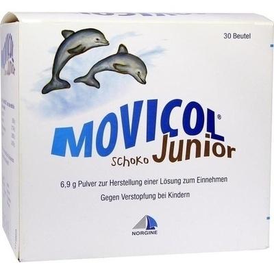 MOVICOL Junior Schoko Plv z Her e Lsg z Einnehmen