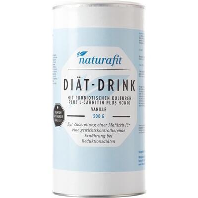 NATURAFIT Diät-Drink Vanille Pulver