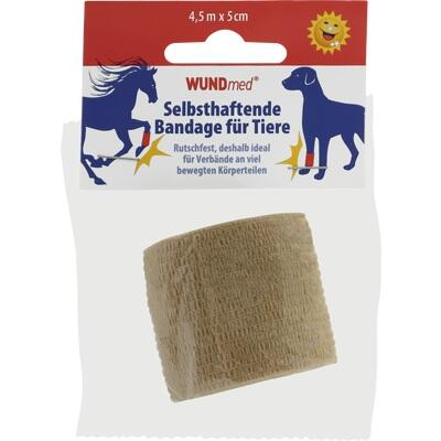 BANDAGE f.Tiere selbsthaftend 5 cmx4,5 m farb.sor.