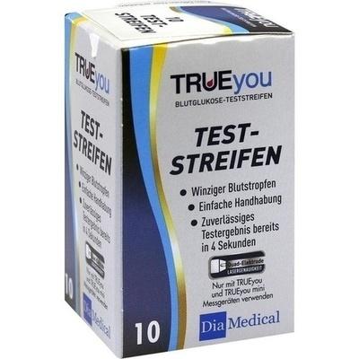 TRUEYOU Blutzucker Teststreifen