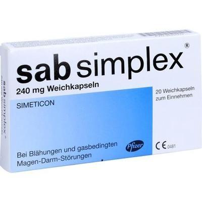 SAB simplex 240 mg Weichkapseln