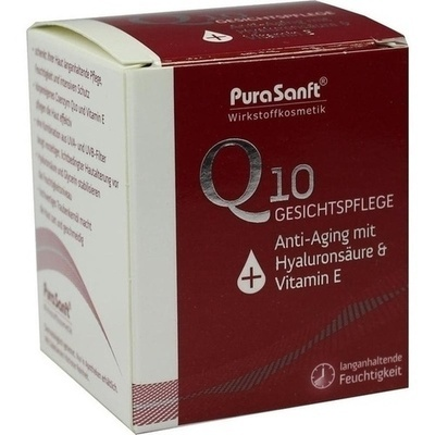 PURASANFT Q10 Gesichtsp.Anti-Aging m.Hyaluronsre