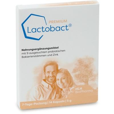 LACTOBACT PREMIUM 7-Tage Packung magensaftres.Kps.