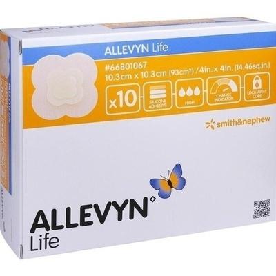 ALLEVYN Life 10,3x10,3 cm Silikonschaumverband