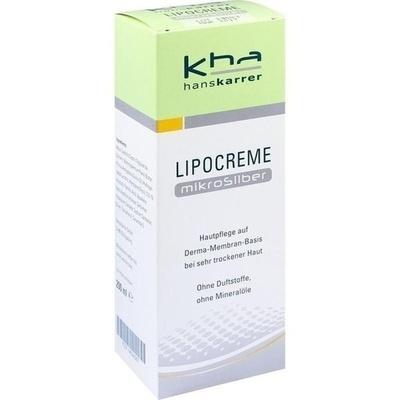 HANS KARRER Lipocreme MikroSilber