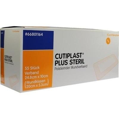 CUTIPLAST Plus steril 10x24,8 cm Verband
