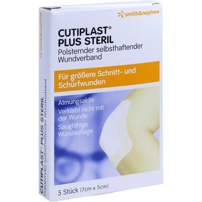 CUTIPLAST Plus steril 5x7 cm Verband