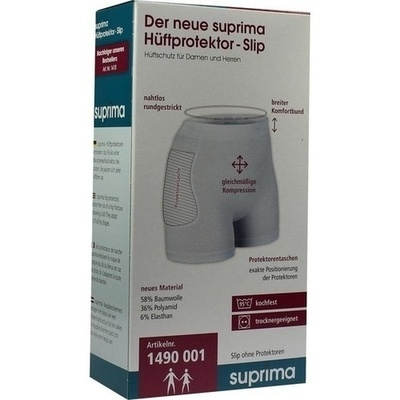 SUPRIMA Hüftprotektor-Slip Gr.L unisex o.Prot.w