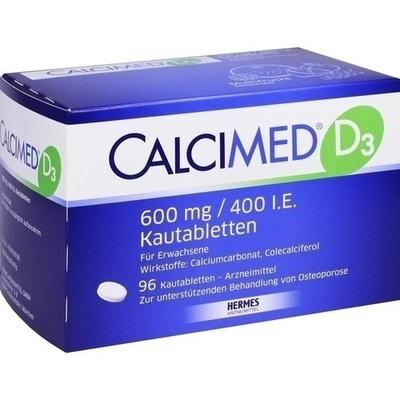 CALCIMED D3 600 mg/400 I.E. Kautabletten