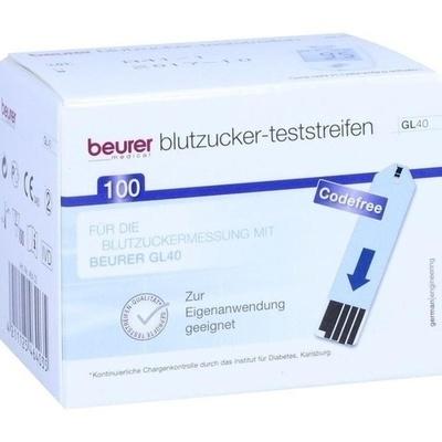 BEURER GL40 Blutzuckerteststreifen