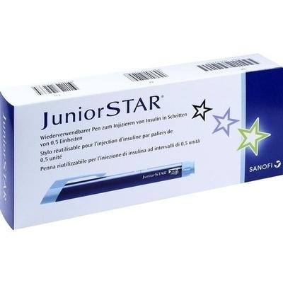 JUNIORSTAR Injektionsgerät blau
