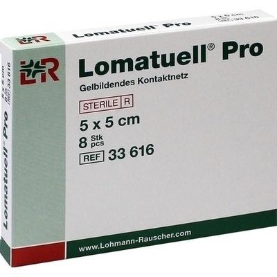 LOMATUELL Pro 5x5 cm steril