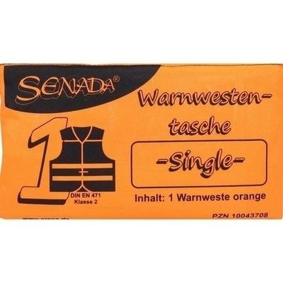 SENADA Warnweste orange Single Tasche