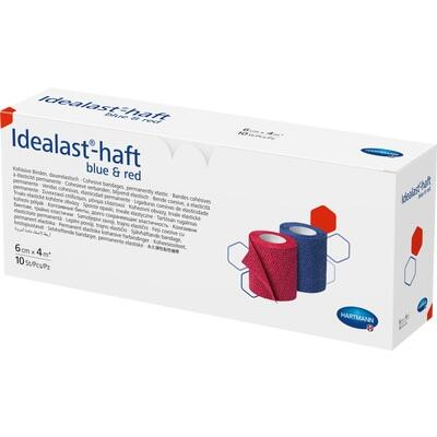 IDEALAST-haft color Binde 6 cmx4 m sortiert