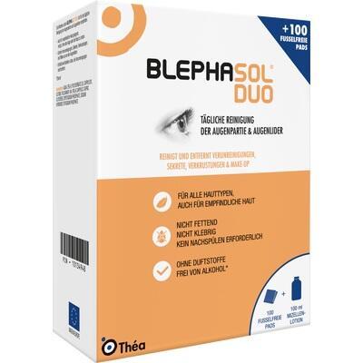 BLEPHASOL Duo 100 ml Lotion+100 Reinigungspads