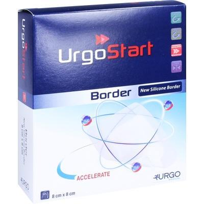 URGOSTART Border 8x8 cm Schaumstoffwundverband
