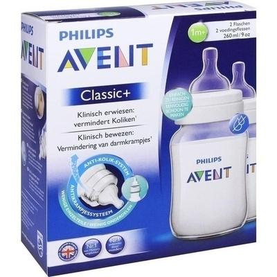 AVENT Klassik+ Flasche 260 ml 2er Pack