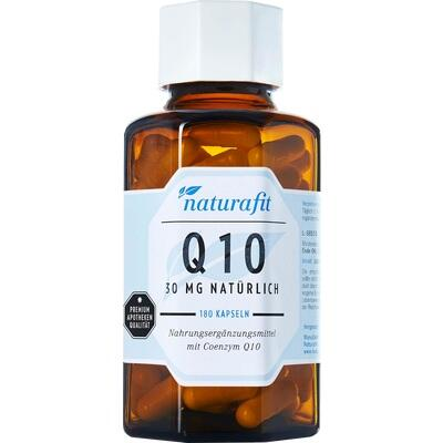 NATURAFIT Q10 30 mg natürlich Kapseln