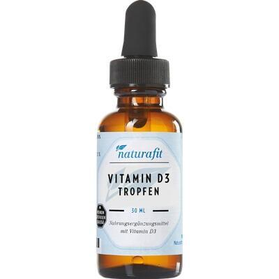 NATURAFIT Vitamin D3 800 I.E. Tropfen