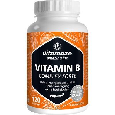 VITAMIN B COMPLEX extra hochdosiert vegan Tabl.