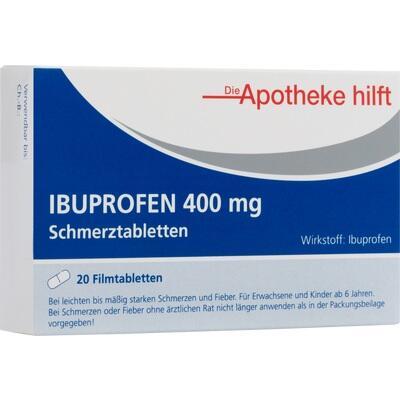 IBUPROFEN 400 mg Die Apotheke hilft Filmtabletten