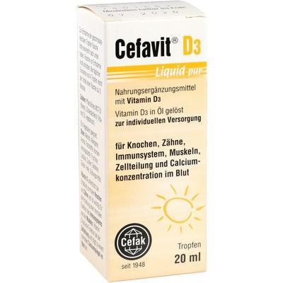CEFAVIT D3 Liquid pur Tropfen zum Einnehmen