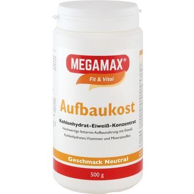MEGAMAX Aufbaukost neutral Pulver