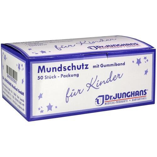 07576217, Mundschutz für Kinder mit Gummiband, 50 ST