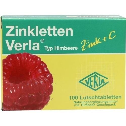 09704814, Zinkletten Verla Himbeere, 100 ST