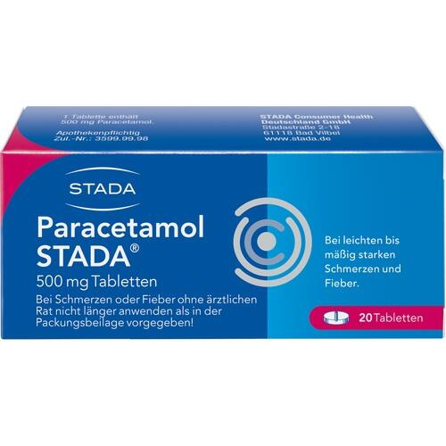 PARACETAMOL STADA 500 mg