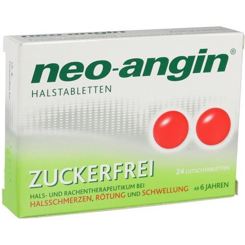 NEO ANGIN Halstabletten zuckerfrei