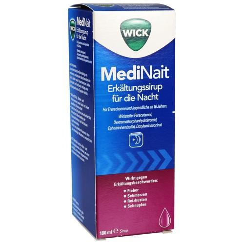 WICK MediNait Erkältungssaft plus WICK Vaporup (zwei Produkte ein Preis)