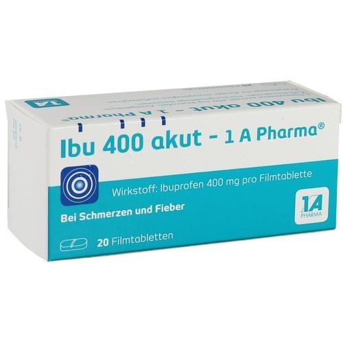 Ibu 400 akut 1 A Pharma