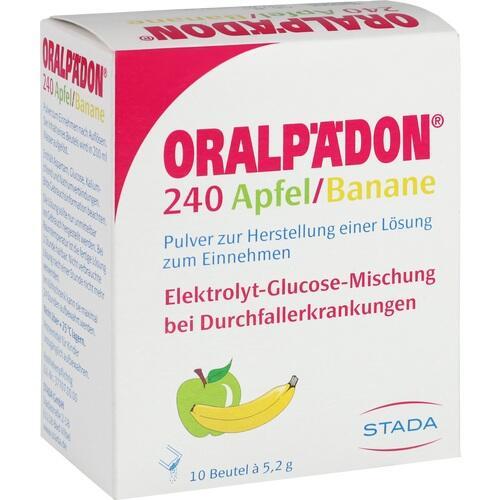 ORALPÄDON 240 Apfel Banane Pulver