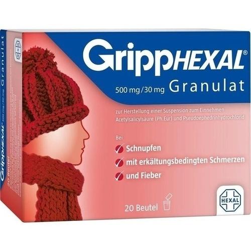 GrippHEXAL 500mg/30mg Granulat