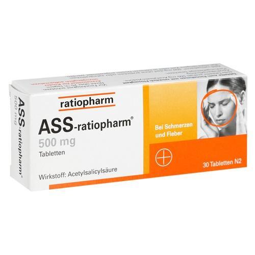 ASS-ratiopharm 500 mg Tabletten*