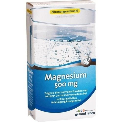 GESUND LEBEN Magnesium 500 mg Brausetabletten