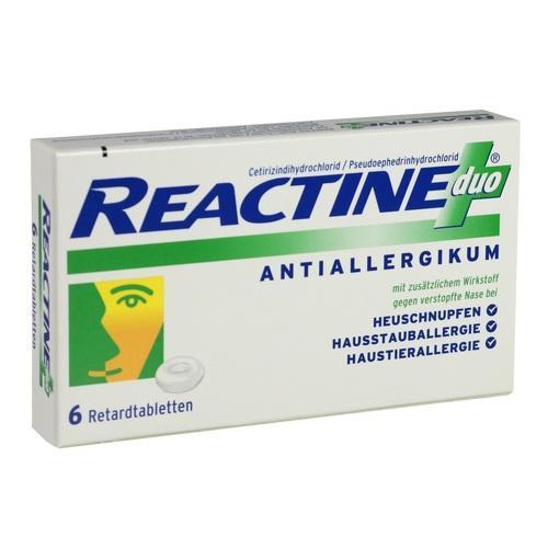 REACTINE duo Antiallergikum