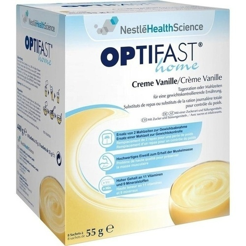 OPTIFAST home Creme Vanille Pulver