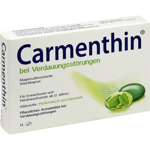 Carmenthin bei Verdauungsstörungen Kapseln magensaftresistent