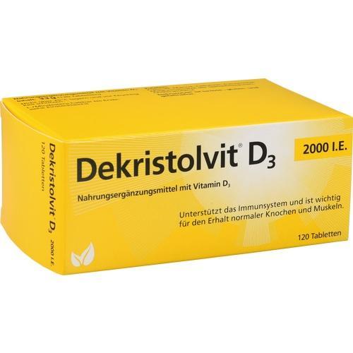 Dekristolvit D3 2000 I.E. Tabletten