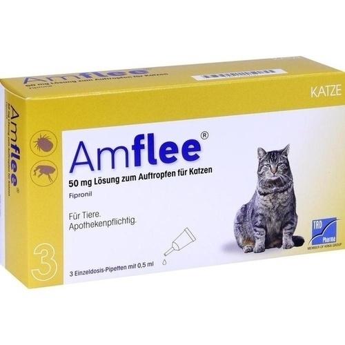 AMFLEE 50 mg Spot-on Lösung z.Auftropfen f.Katzen
