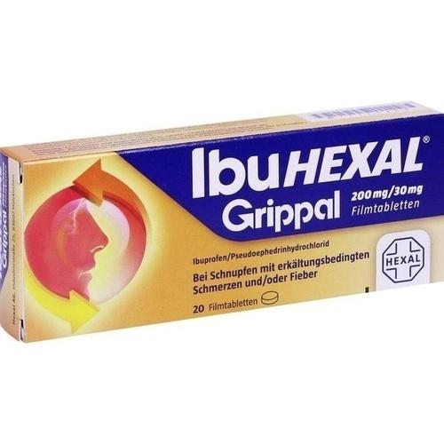 IBUHEXAL Grippal 200 mg/30 mg Filmtabletten