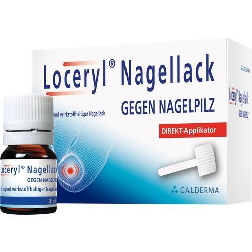 Loceryl Nagellack gegen Nagelpilz, Direkt-Applikator Lösung