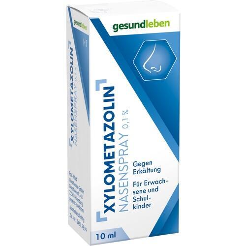 Xylometazolin Nasenspray 0.1%